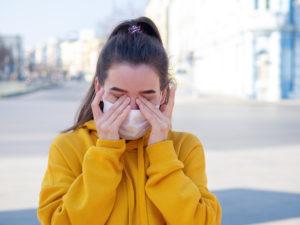 Difficoltà a respirare dopo il Covid-19